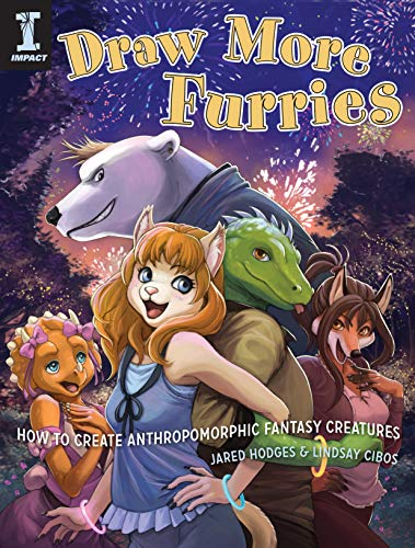 9781440314735: Draw More Furries: How to Create Anthropomorphic Fantasy Creatures