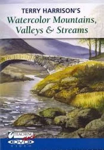 9781440321269: Terry Harrison's Watercolor Mountains, Valleys & Streams