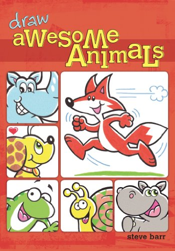Draw Awesome Animals (Kids DIY): Steve Barr