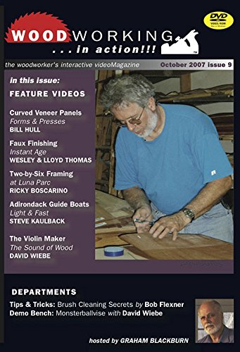 Woodworking in Action: Curved Veneer Panels, Faux Finishing, Two-by-six Framing, Adirondack Guide ...