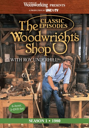 9781440328442: The Woodwright's Shop (Season 1): The Historic Launch of Roy Underhill's Handtool & Woodworking Projects