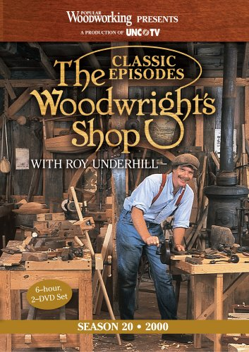 9781440328473: The Woodwright's Shop (Season 20): Roy Underhill's Classic Episodes on Handtools & Woodworking