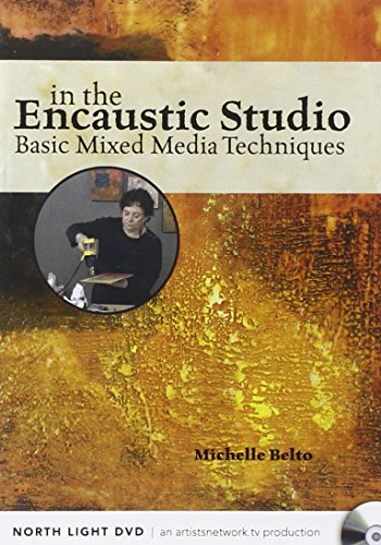 9781440330827: In the Encaustic Studio - Basic Mixed Media Techniques [USA]