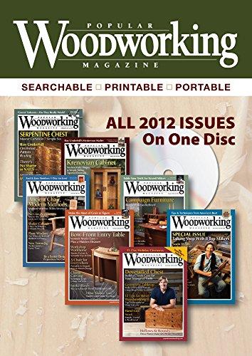 9781440330957: 2012 Popular Woodworking Magazine
