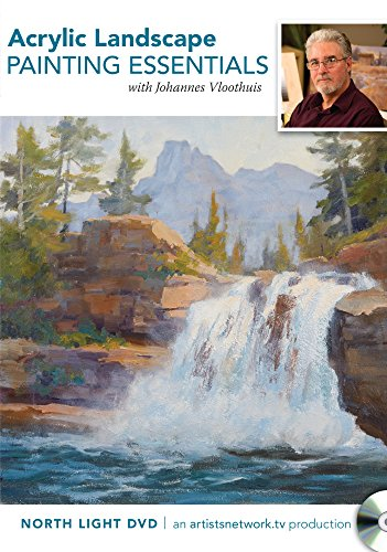 9781440333606: Acrylic Landscape Painting Essentials with Johannes Vloothuis