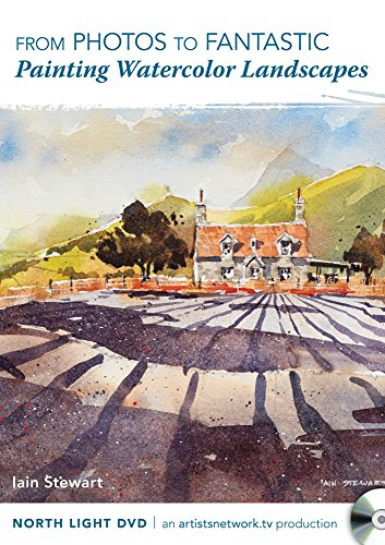 9781440340352: From Photos to Fantastic - Painting Watercolor Landscapes