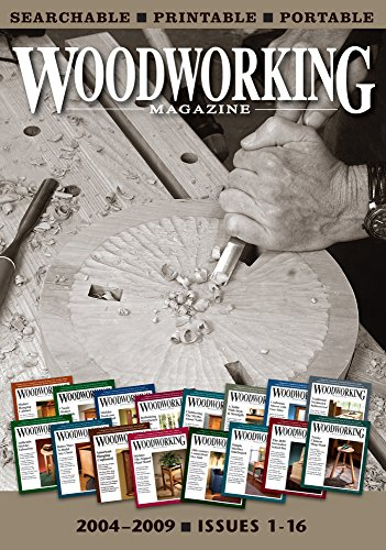 9781440341090: Woodworking Magazine - The Complete Collection Issues 1-16