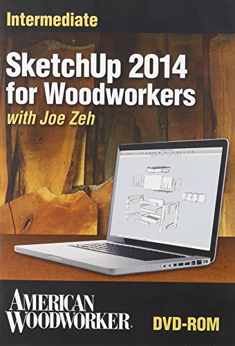 9781440341205: Sketchup 2014 for Woodworkers: Intermediate
