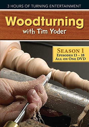 9781440342301: Woodturning with Tim - Episodes 13-18