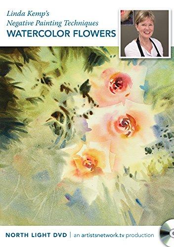9781440342431: Linda Kemp's Negative Painting Techniques - Watercolor Flowers
