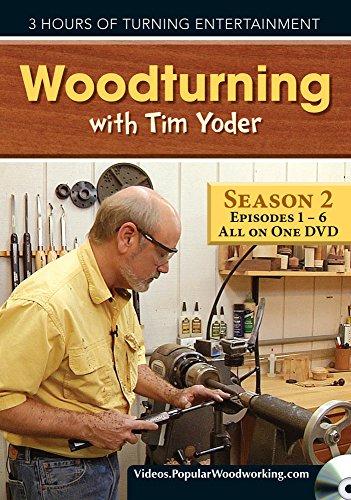 9781440343056: Woodturning with Tim Yoder DVD, Episodes 201-206
