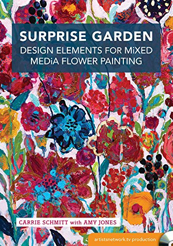 9781440343797: Surprise Garden: Design Elements for Mixed-Media Flower Painting