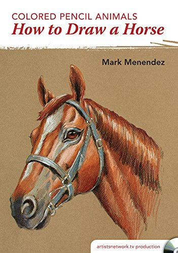 9781440343988: Colored Pencil Animals - How to Draw a Horse