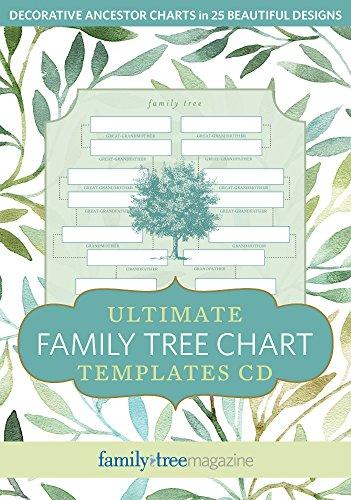 Ultimate Family Tree Chart Templates CD: Family Tree Editors