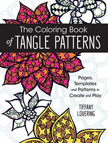 9781440346033: The Coloring Book of Tangle Patterns: Pages, Templates and Patterns to Create and Play