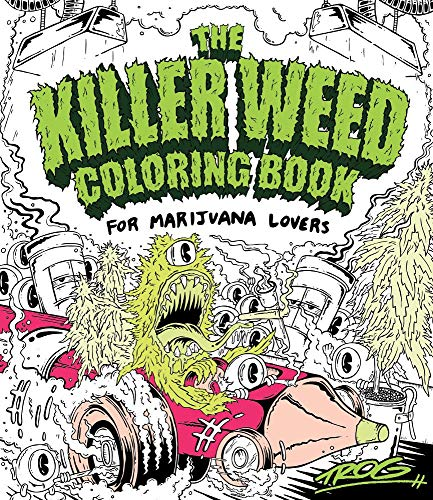9781440351747: The Killer Weed Coloring Book: For Marijuana Lovers