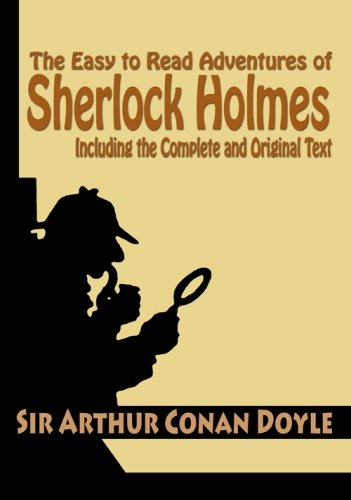 9781440401374: The Easy to Read Adventures of Sherlock Holmes Including the Complete and Original Text