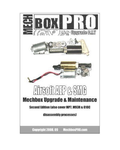 Airsoft AEP & SMG: Mechbox Upgrade And Maintenance: Mechboxpro Airsoftpress