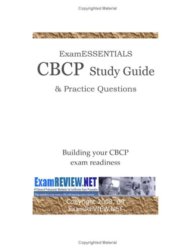 9781440434877: Examessentials CBCP Study Guide & Practice Questions