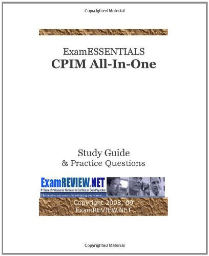 9781440434884: Examessentials Cpim All-In-One