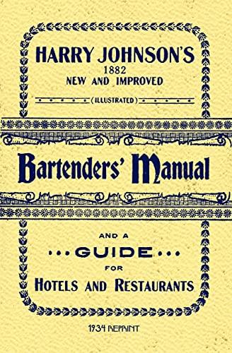 9781440454417: Harry Johnson's Bartenders Manual 1934 Reprint
