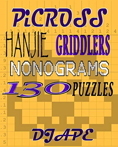 9781440459788: Picross, Hanjie, Griddlers, Nonograms: 130 Puzzles: 2 (Hanjie Books)