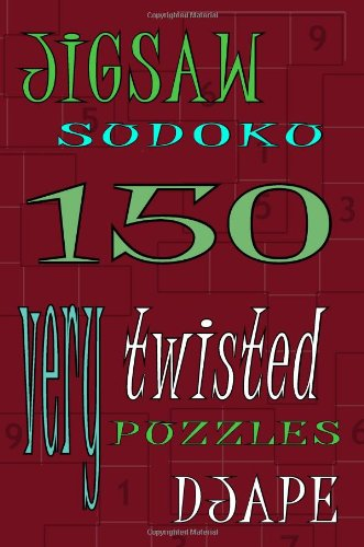 9781440476259: Jigsaw Sudoku: 150 Very Twisted Puzzles