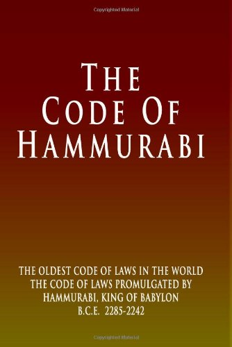 9781440481550: The Code Of Hammurabi