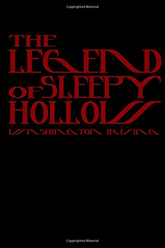 9781440490712: The Legend Of Sleepy Hollow: Cool Collector's Edition (Printed In Modern Gothic Fonts)