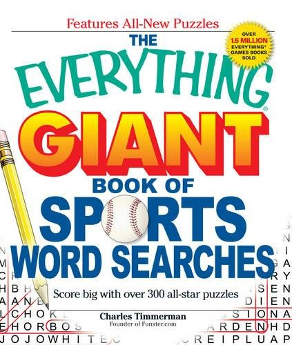 9781440500039: The Everything Giant Book of Sports Word Searches: Score big with over 300 all-star puzzles