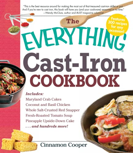 9781440502255: The Everything Cast-Iron Cookbook