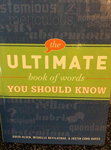 9781440503641: The Ultimate Book of Words You Should Know