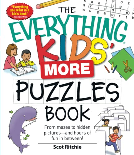 9781440506475: The Everything Kids' More Puzzles Book: From Mazes to Hidden Pictures--And Hours of Fun in Between!