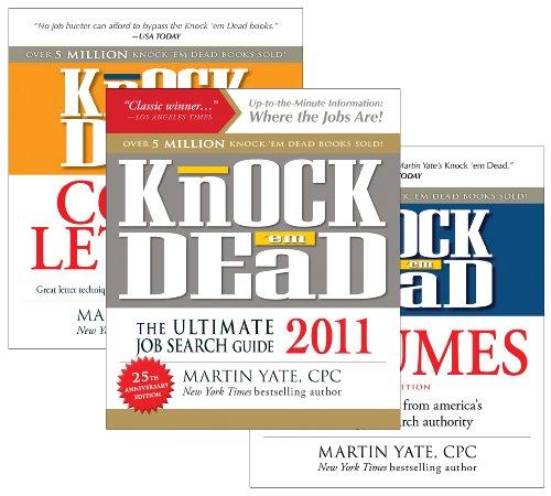 The Knock 'em Dead Job Search Bundle (9781440525148) by Martin Yate CPC