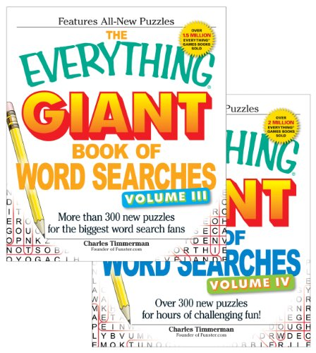 9781440525179: The Everything Giant Word Search Bundle - Vol III and IV