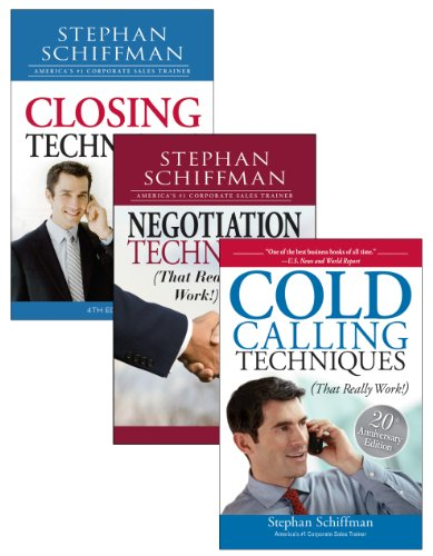 Stephan Schiffman Sales Techniques Bundle (1440525218) by Schiffman, Stephan