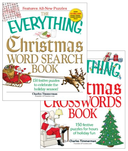9781440525278: The Everything Christmas Crossword and Word Search Bundle