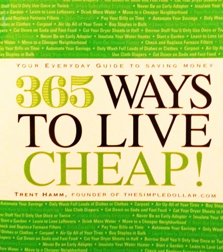 9781440526152: 365 Ways To Live Cheap! Your Everyday Guide To Saving Money