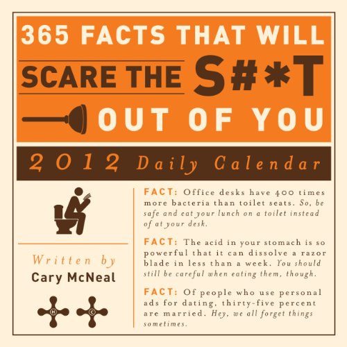 9781440527098: 365 Facts that Will Scare the S#*t Out of You 2012 Daily Calendar