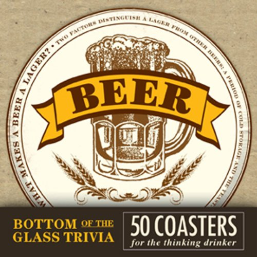 9781440529047: Bottom of the Glass Trivia Coasters - Beer