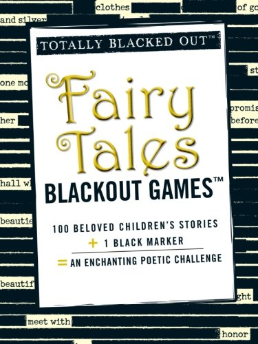 9781440532740: Fairy Tales Blackout Games (Totally Blacked Out)