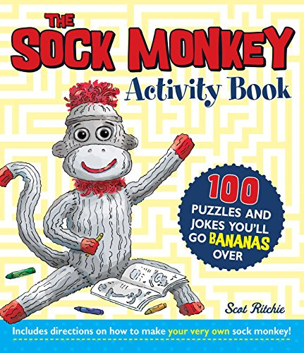 9781440544101: The Sock Monkey Activity Book: 100 puzzles and jokes you'll go bananas over