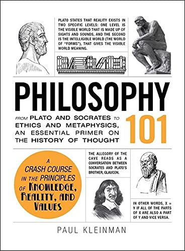 9781440567674: Philosophy 101: From Plato and Socrates to Ethics and Metaphysics, an Essential Primer on the History of Thought (Adams 101)