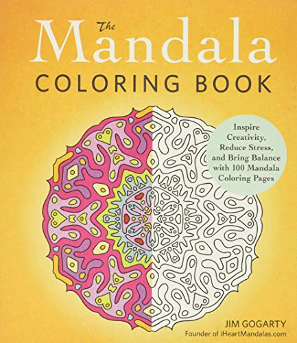 9781440569982: The Mandala Coloring Book: Inspire Creativity, Reduce Stress, and Bring Balance with 100 Mandala Coloring Pages