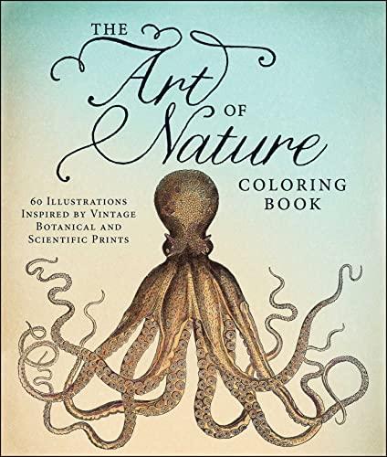The Art of Nature Coloring Book : Adams Media Corporation
