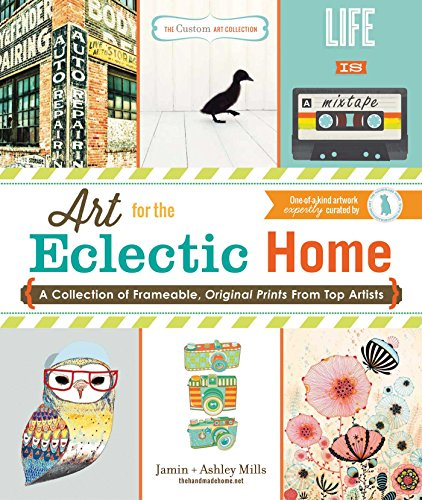 9781440570896: The Custom Art Collection - Art for the Eclectic Home: A Collection of Frameable, Original Prints from Top Artists