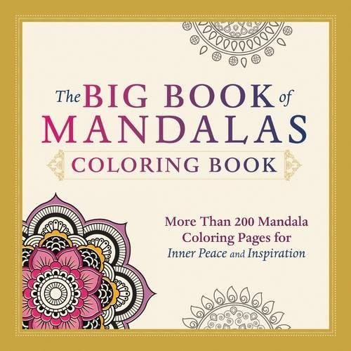 9781440579868: The Big Book of Mandalas Coloring Book: More Than 200 Mandala Coloring Pages for Inner Peace and Inspiration
