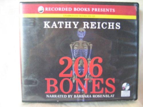 9781440727214: 206 Bones by Kathy Reichs Unabridged CD Audiobook (Temperance Brennan Mystery Series, Book 12)