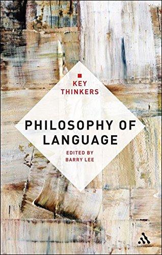9781441100153: Philosophy of Language: The Key Thinkers