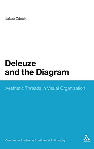 9781441115607: Deleuze and the Diagram: Aesthetic Threads in Visual Organization (Continuum Studies in Continental Philosophy)